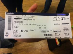 Mein erstes Eventim Ticket